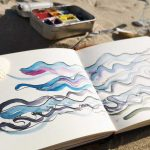 Tekenen op het ritme van de zee