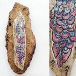 tekenen op hout