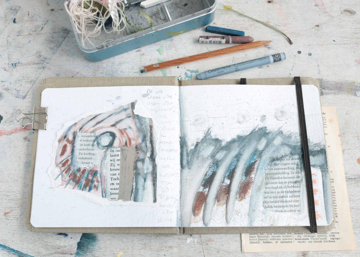 Hoe een dode uil de start werd van een nieuw schetsboek